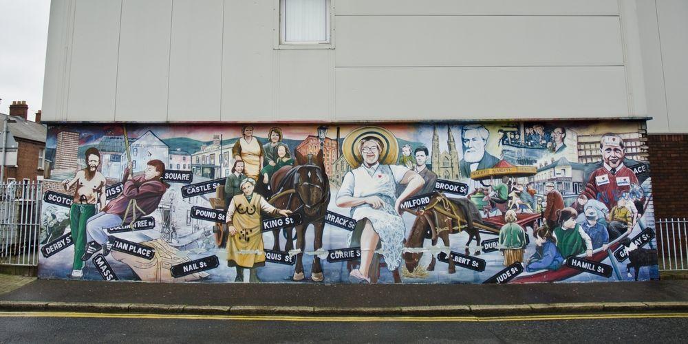 West Belfast Mural