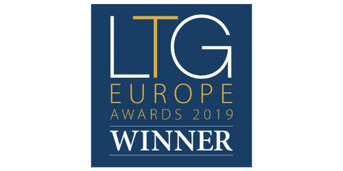 LTG Europe Awards 2019 winner