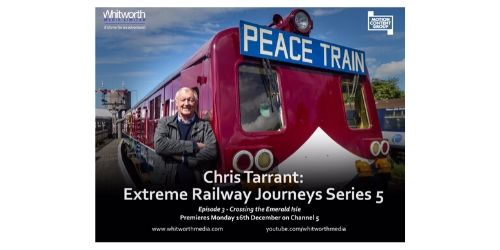 Our Belfast walking tours have been featured by Chris Tarrant