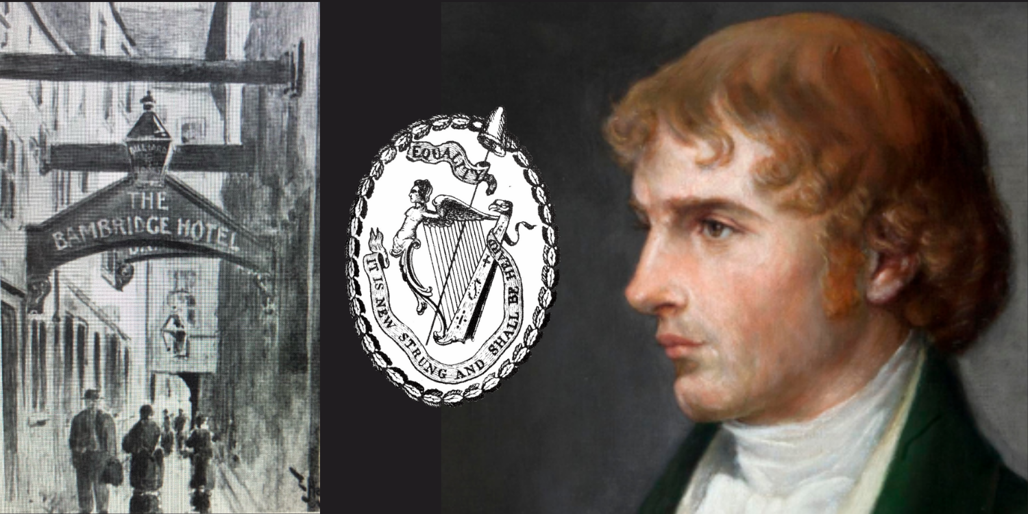 Henry Joy McCracken met with other United Irishmen at Sugarhouse Entry