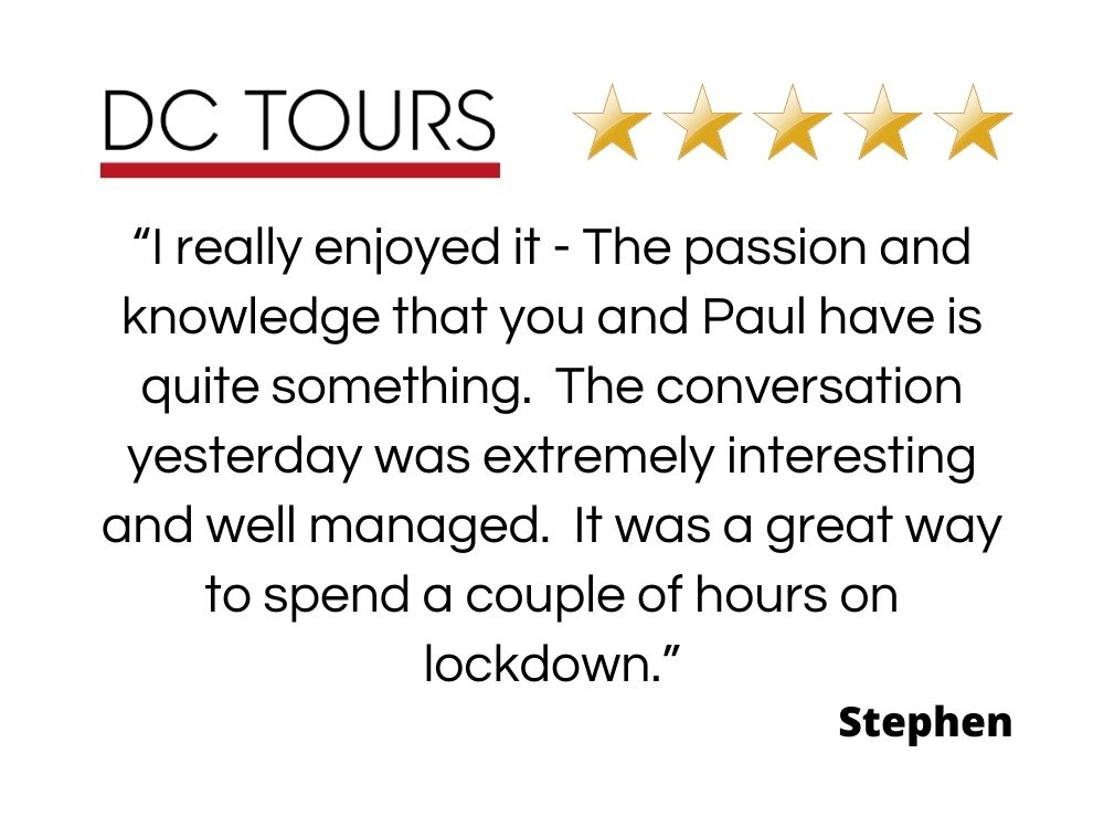 Review of the online experience with Paul Donnelly by Stephen