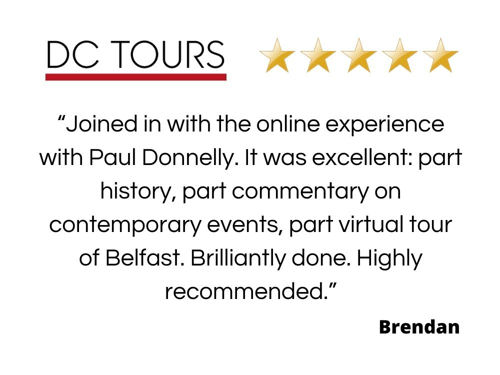 Review of the online experience with Paul Donnelly by Brendan