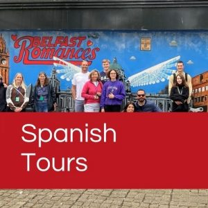 Find out more about our Belfast walking tours in Spanish