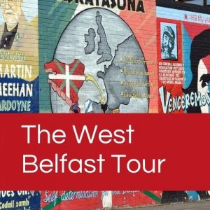 Our West Belfast Tour is available as a Belfast Group Tour