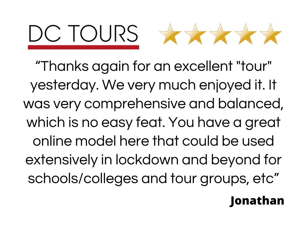 Review of the online experience - Jonathan