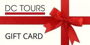 DC Tours gift cards are great stocking fillers