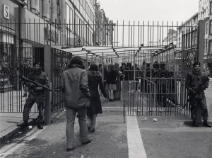 The ring of steel - Belfast city centre in the 1970s