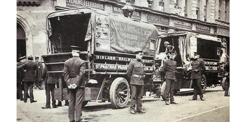Members of the Royal Irish Constabulary