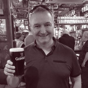 James Ellson, one of the tour guides on our Belfast walking tours