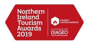 Northern Ireland Tourism Awards 2019 logo