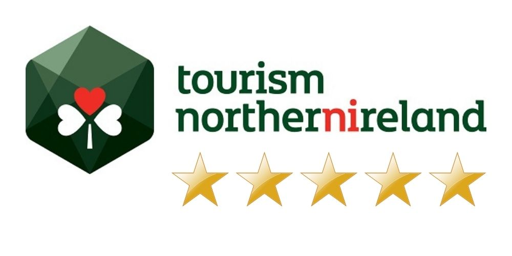 Tourism Northern Ireland five star rating logo