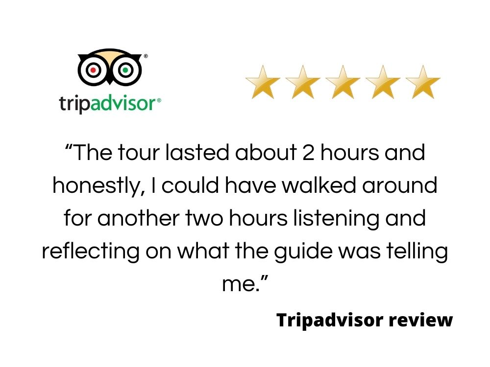 Tripadvisor review of our walking tours of Belfast