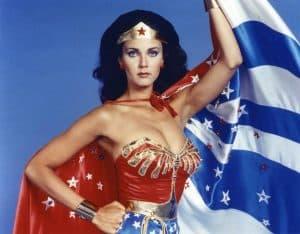 Wonderwoman, a favourite of Jamesy's in the 1970s