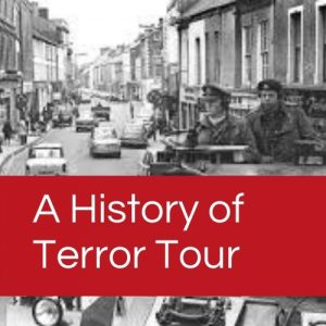 You can take our History of Terror tour as a private walking tour of Belfast