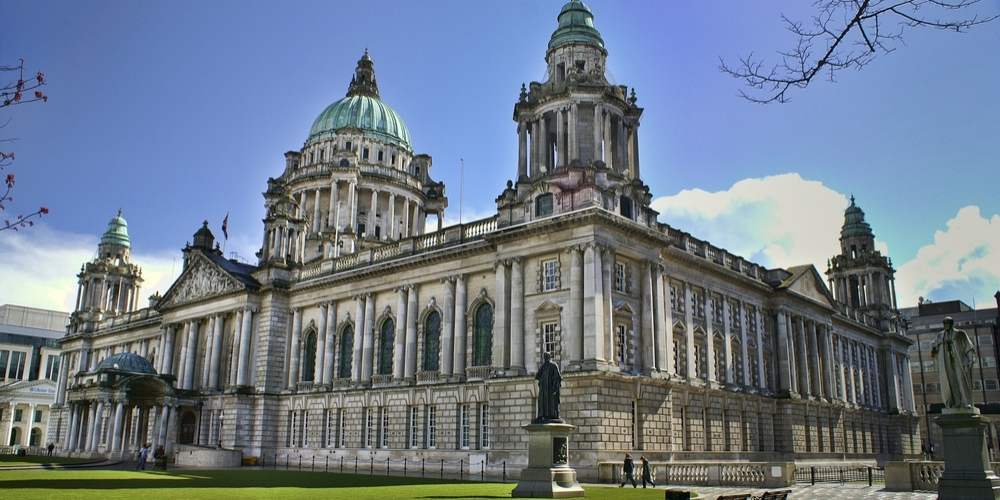City Hall, which you will see on the Best of Belfast walking tour