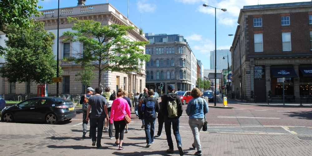 High Street, which you will see on the Best of Belfast walking tour