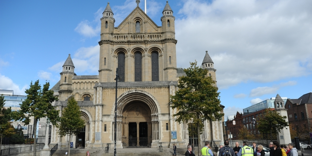 Saint Annes in the Cathedral Quarter, which you will see on the Best of Belfast walking tour