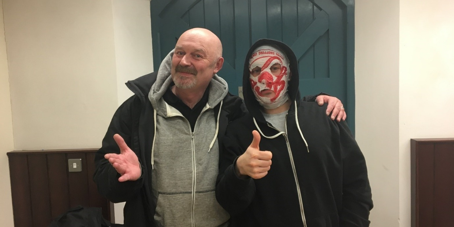 Donzo with Blindboy