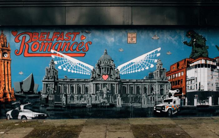 Belfast Romances mural
