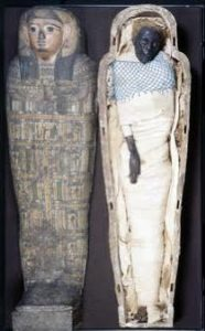 Takabuti, the mummy in the Ulster Museum in South Belfast